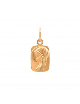 Złoty Medalik Na Prezent Chrzest Komunia