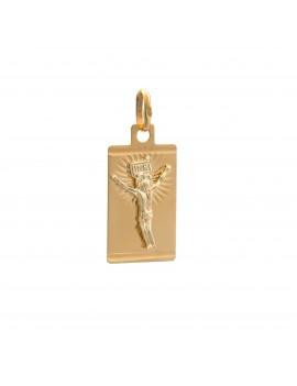 Złoty Medalik z Jezusem