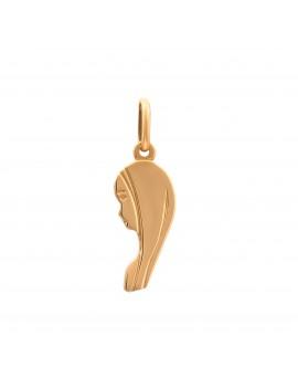 Złoty PIĘKNY Medalik pr585 MATKA BOSKA Prezent