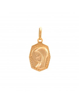 Złoty MEDALIK pr333 MATKA BOSKA na PREZENT