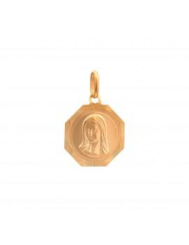 Złoty Medalik Matka Boska...