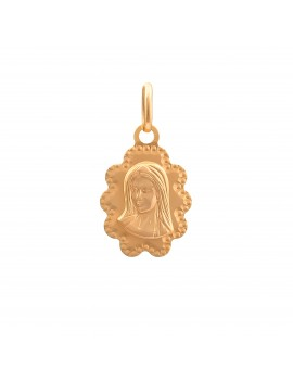 Złoty Ażurowy Medalik...