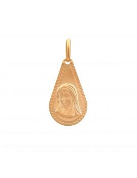 Złoty Medalik Chrzest Komunia
