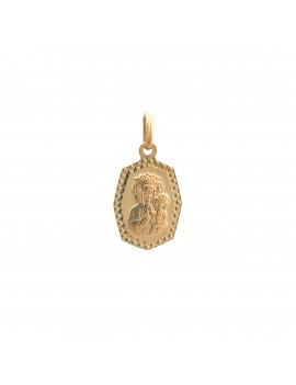 Złoty Medalik Matka Boska