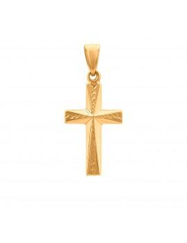 Złoty Piękny Krzyżyk Z...