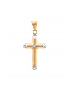 Złoty Krzyżyk pr585 PIĘKNY...