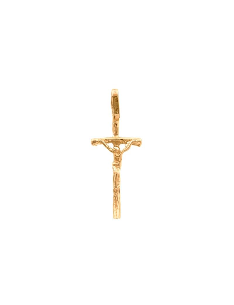 Złoty Klasyczny Krzyżyk Idealny Na Prezent