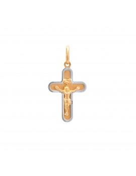 Złoty Oryginalny Krzyżyk Z...