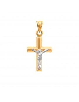 Złoty Klasyczny Krzyżyk Z...