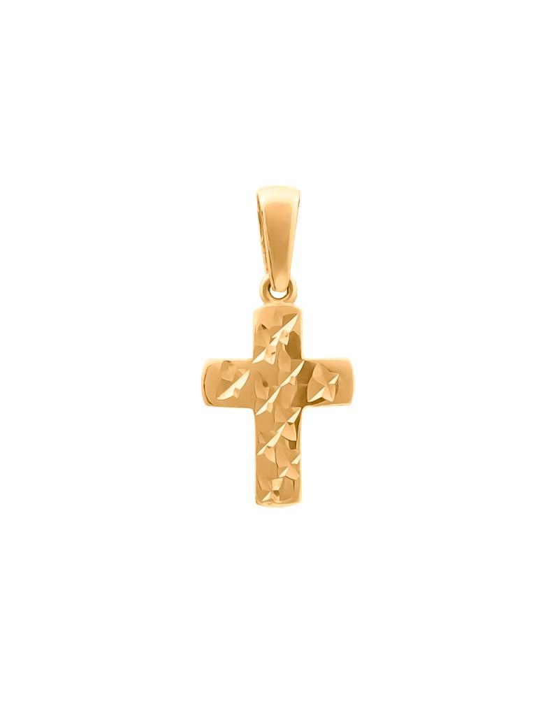 Złoty ORYGINALNY Krzyżyk pr585 PIĘKNY WZÓR OKAZJA!