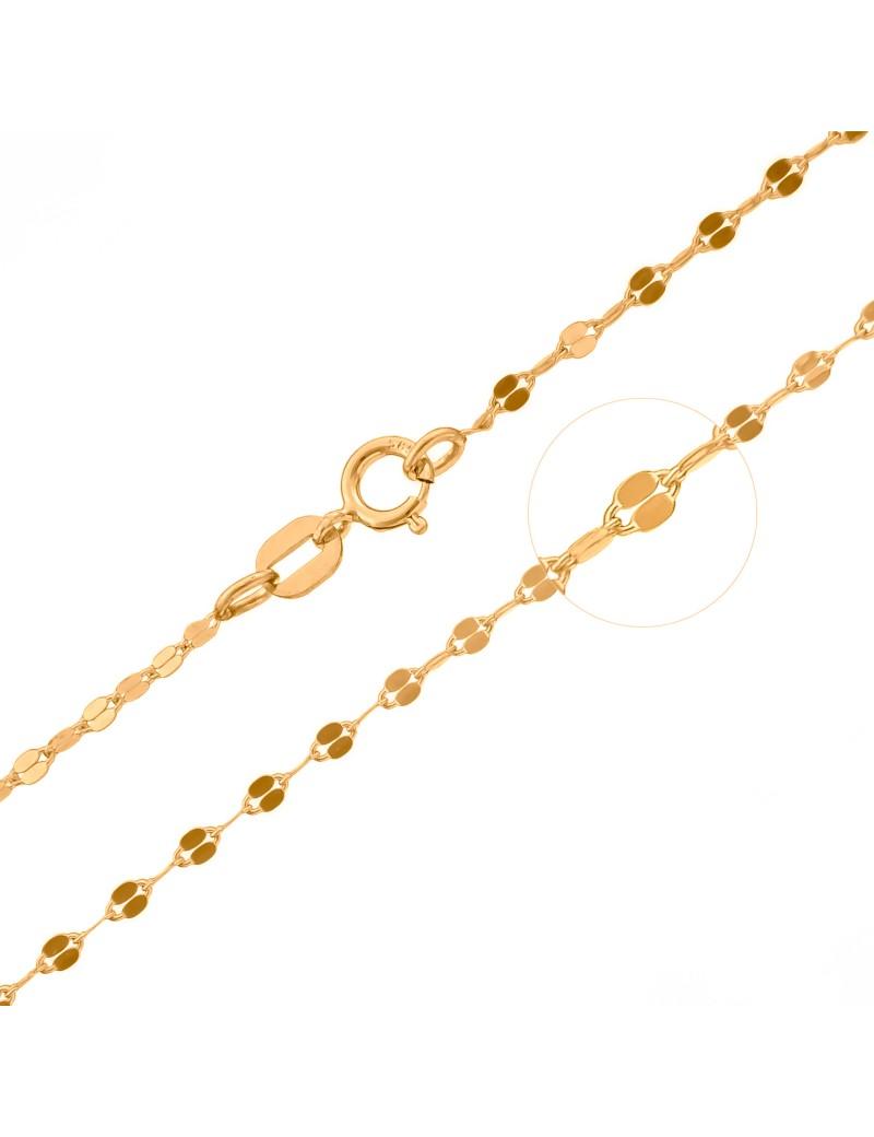 Złoty Łańcuszek pr333 ORYGINALNY WZÓR 45cm OKAZJA