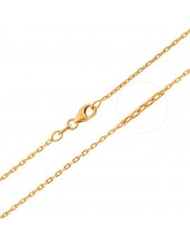 Złoty Łańcuszek 42cm Splot...