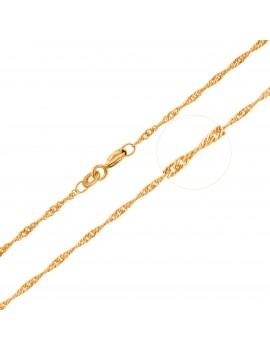 Złoty Łańcuszek pr333 MODNY...