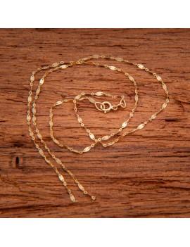Złoty Łańcuszek 45cm Oryginalny Splot Z Blaszką