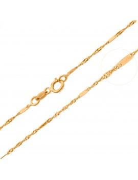 Złoty Łańcuszek 45cm z...