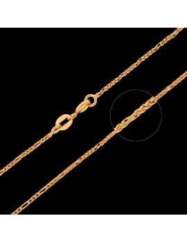 Złoty Łańcuszek pr585 NOWY ORYGINALNY SPLOT 45cm