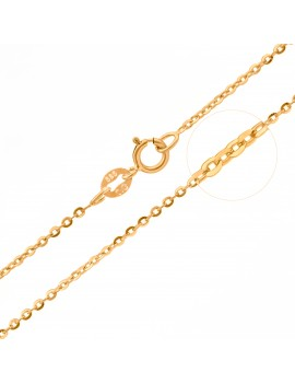 Złoty Łańcuszek 40cm Ankier...
