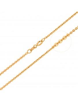 Złoty Łańcuszek 45cm Mocny...