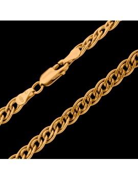 Złoty Łańcuszek 50cm Szeroka Monaliza Nona