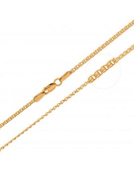 Złoty Łańcuszek 50cm Splot...