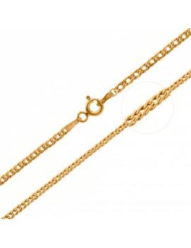 Złoty Łańcuszek 45cm Rombo...