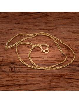 Złoty Łańcuszek 45cm Rombo Grawer