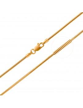 Złoty Łańcuszek 45cm Żmijka...