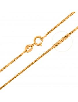 Złoty Łańcuszek 50cm Lisi...