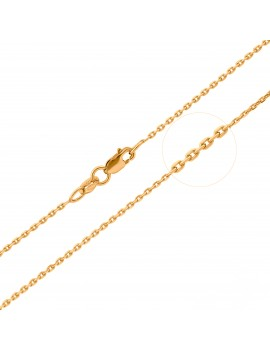 Złoty Łańcuszek 50cm Ankier...