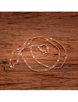 Złoty Łańcuszek 50cm Merino Różowe Złoto