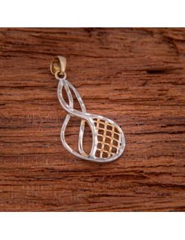 Złoty Wisiorek ORYGINALNY MODEL pr585 Białe Złoto