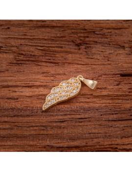 Złoty Wisiorek pr585 PIĘKNE SKRZYDŁO ANIOŁA