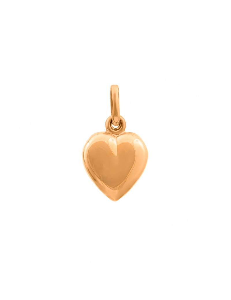 Złoty Wisiorek Serce Grawer