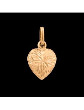 Złoty Wisiorek pr585 PIĘKNE SERCE ORYGINALNY WZÓR