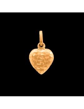 Złoty Wisiorek pr585 ORYGINALNY WZÓR SERCE