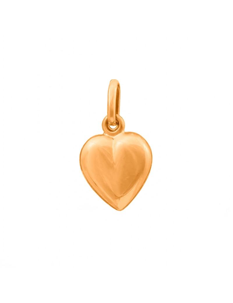 Złoty Wisiorek Piękne Serce Na Co Dzień