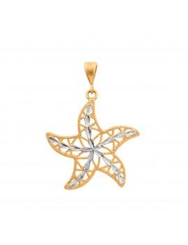 Złoty Wisiorek Gwiazda...