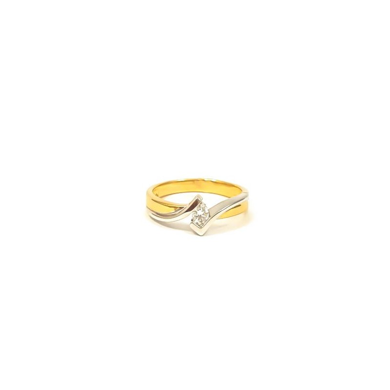 Złoty Pierścionek pr585 IDEALNY na ZARĘCZYNY r13