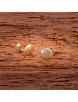 Złote DZIECIĘCE Kolczyki Sztyft pr333 GWIAZDKA