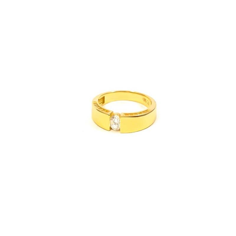 Złoty PIĘKNY Pierścionek 585 IDEALNE ZAĘCZYNY r15