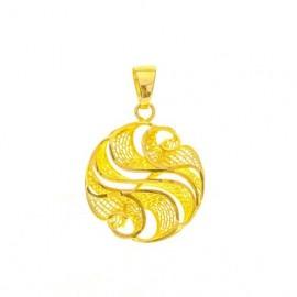 Złoty Wisiorek pr585 PIĘKNY...