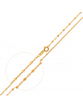 Złoty Łańcuszek 45cm Ankier...