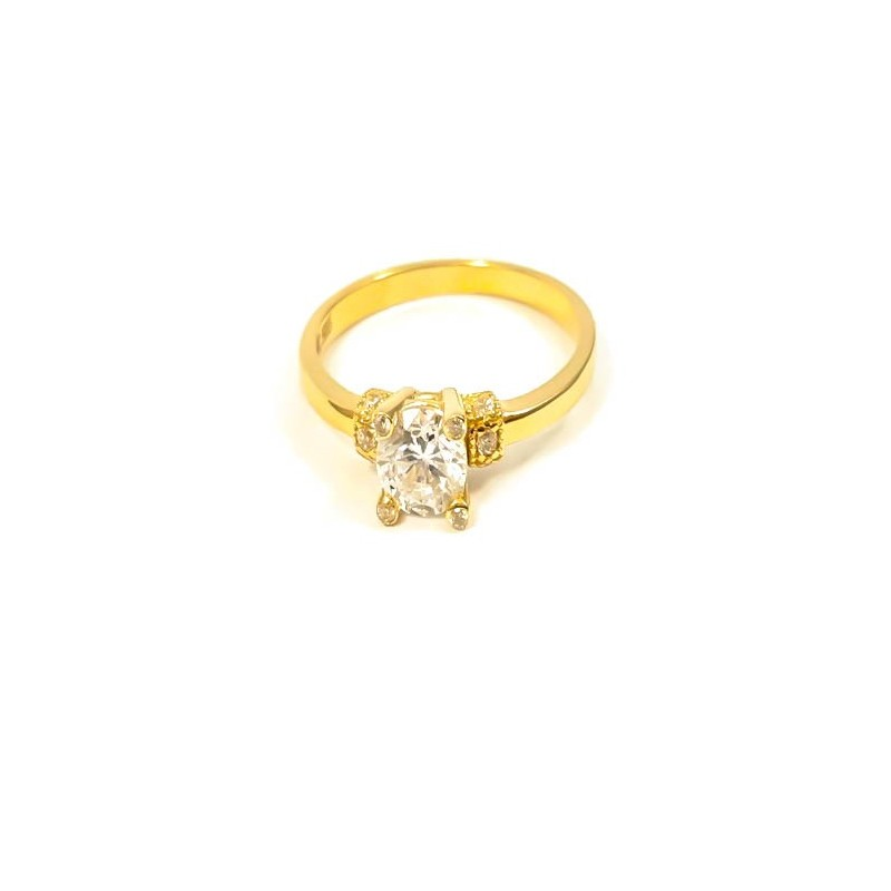 Złoty Pierścionek Zaręczynowy r14