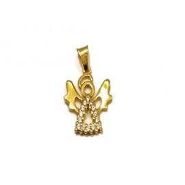 Złoty PIĘKNY Wisiorek pr333...