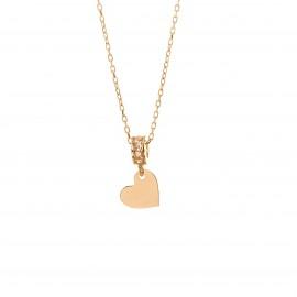 Złoty Naszyjnik Pełne Serce...