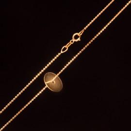 Złoty Naszyjnik Pełne Kółko