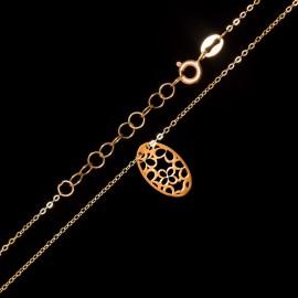 Złoty Naszyjnik Ażurek