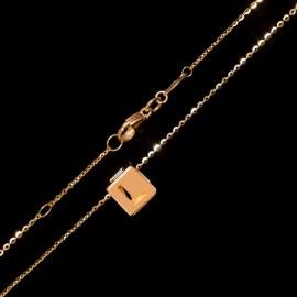 Złoty Naszyjnik Love 3D