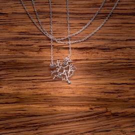 Srebrny Naszyjnik Celebrytka Drzewo Życia