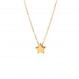 Złoty Naszyjnik Gwiazdka